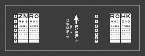 SA-BRL-4 — Visual Acuity