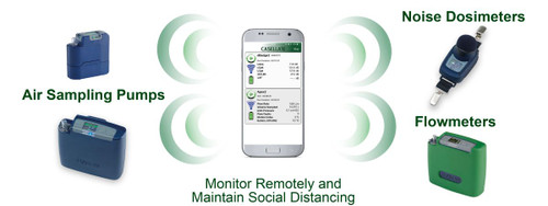 Casella Monitor Remotely and Maintain Social Distancing