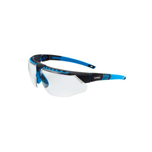 UVEX Avatar Safety Glasses Blue Frame - Clear - S2850HS