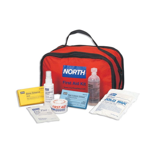 Honeywell Redi-Care Red Nylon 25 Person First Aid Kit