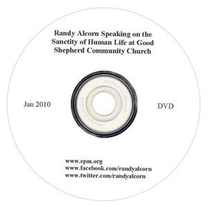 Randy Alcorn Speaking on the Sanctity of Human Life (DVD)