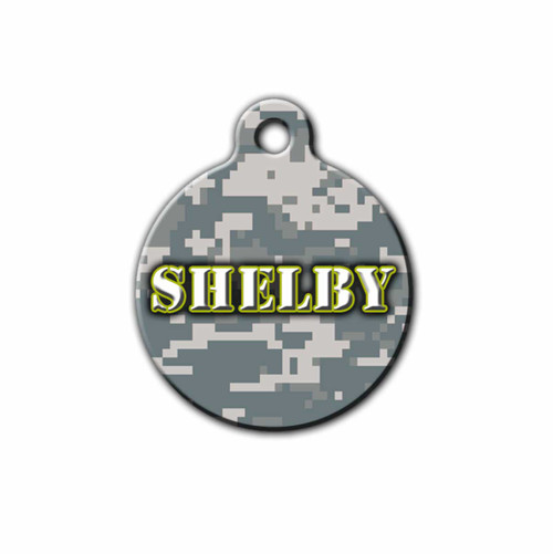 US Army inspired Pet Tag | Blue fox gifts