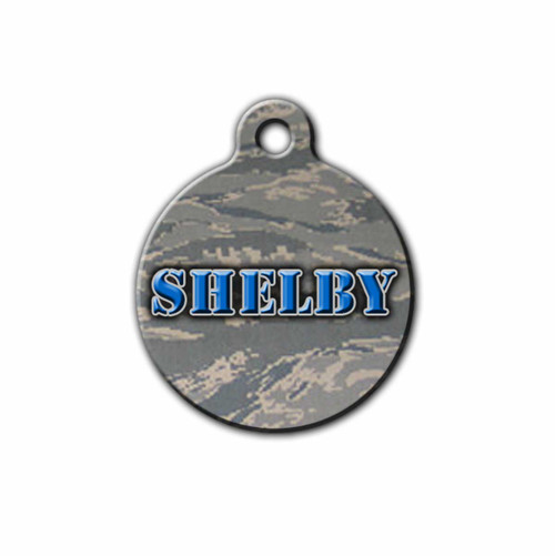 US Air force Inspired dog Tag, Personalized USAF Pet ID Tag | Blue Fox Gifts