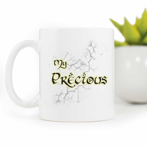 Golem inspired Coffee mug, My Precious! | Blue Fox Gifts