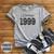 Vintage 1999, 21st Birthday Shirt, Athletic Heather | Blue Fox Gifts