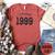 Vintage 1999, 21st Birthday Shirt, Heather Clay | Blue Fox Gifts