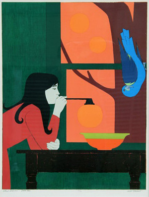 SILENT SEASONS - SUMMER BY WILL BARNET