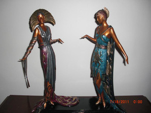 TWO VAMPS BY ERTE
