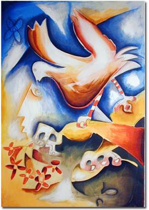SPRINKLE THE JOY OF PEACE BY ALEXANDRA NECHITA