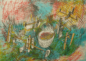 ESCAPE DE LA SPECE BY ROBERTO MATTA