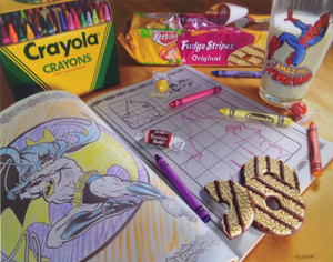 CRAYOLA BY DOUG BLOODWORTH