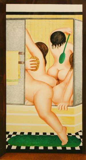 BATHROOM BY BERYL COOK