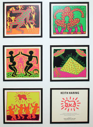 FERTILITY SUITE (POSTCARDS) BY KEITH HARING