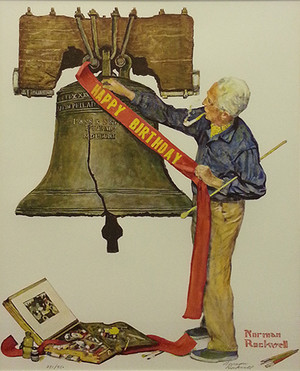 CELEBRATION BY NORMAN ROCKWELL