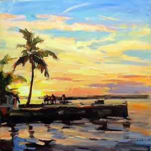 SUNSET BY IGOR KOROTASH