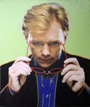 DAVID CARUSO (SUNGLASSES) BY STEVE KAUFMAN