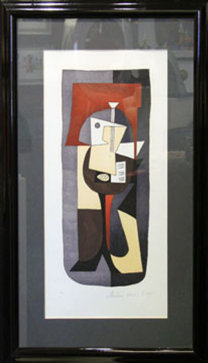 GUITARE ET PARTITION BY MARINA PICASSO