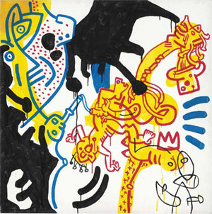 UNTITLED I BY KEITH HARING