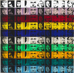 PORTRAITS OF THE ARTISTS BY ANDY WARHOL