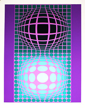 OLTAR ZOELD BY VICTOR VASARELY