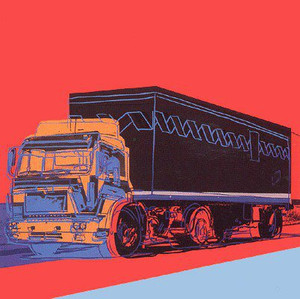 TRUCK (RED) FS II.369 BY ANDY WARHOL
