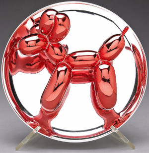 BALLOON DOG (RED) BY JEFF KOONS