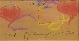 PORTRAIT I BY PETER MAX