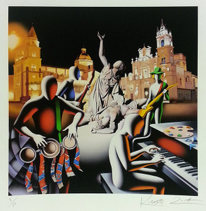 THE FIRST SET WAS IN STONE BY MARK KOSTABI