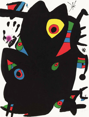 MONTROIG 2 BY JOAN MIRO