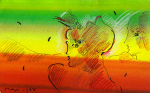 UNTITLED 5 BY PETER MAX
