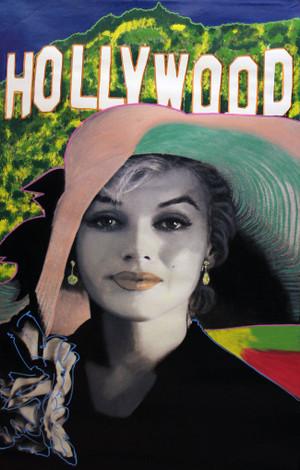 SOPHISTICATED MARILYN - HOLLYWOOD STYLE BY STEVE KAUFMAN
