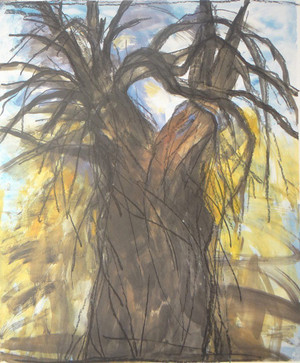 THE NEW YEARS TREE BY JIM DINE