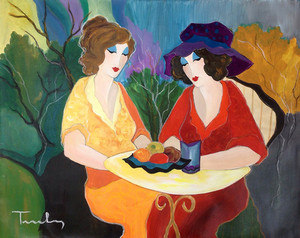 CHATTING LADIES BY ITZCHAK TARKAY
