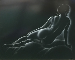 UNTITLED (LAYING NUDE) BY FERNANDO MONTOYA