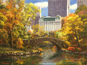 AUTUMN AT CENTRAL PARK BY SAM PARK