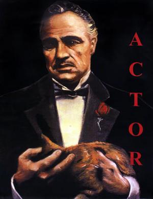MARLON BRANDO - THE ACTOR BY STEVE KAUFMAN