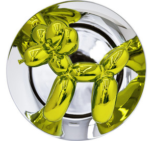 BALLOON DOG (YELLOW) BY JEFF KOONS