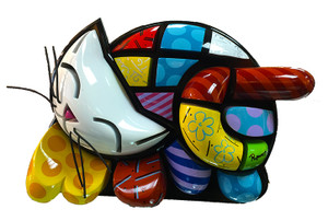 BRENDAN'S CAT BY ROMERO BRITTO