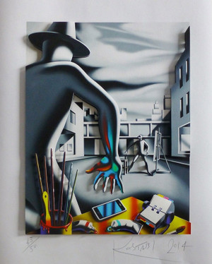QUICK ON THE DRAW BY MARK KOSTABI