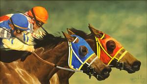 RACING HORSES BY RON BALABAN
