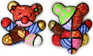 LOVE BEAR BY ROMERO BRITTO