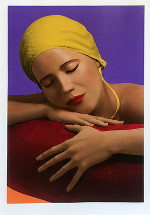 SERENA WITH YELLOW CAP BY CAROLE A. FEUERMAN