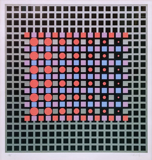 ZILVER BY VICTOR VASARELY