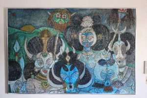 THE AFRICAN TRIBE BY JESUS FUERTES