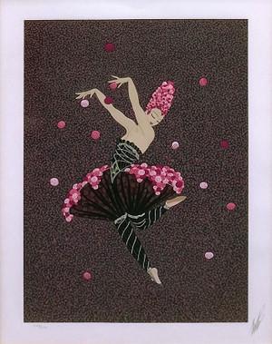 ROSE DANCER BY ERTE