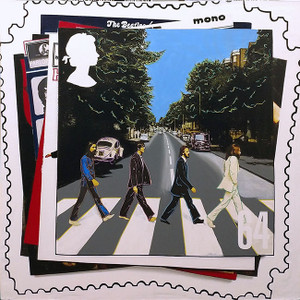 BEATLES ABBEY ROAD STAMP BY STEVE KAUFMAN