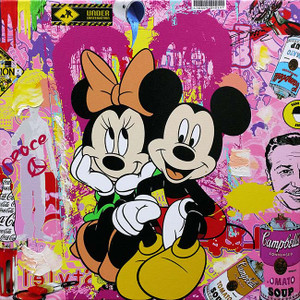 MICKEY & MINNIE I BY JOZZA