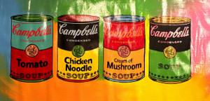 CAMPBELLS SOUP BY STEVE KAUFMAN