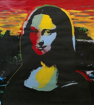 MONA LISA BY STEVE KAUFMAN