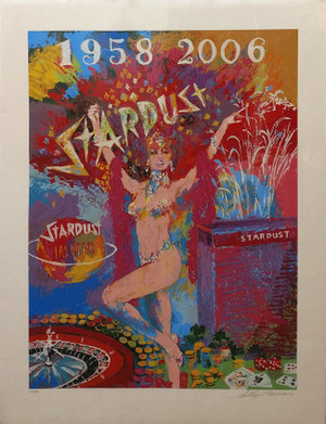 STARDUST REFLECTIONS BY LEROY NEIMAN